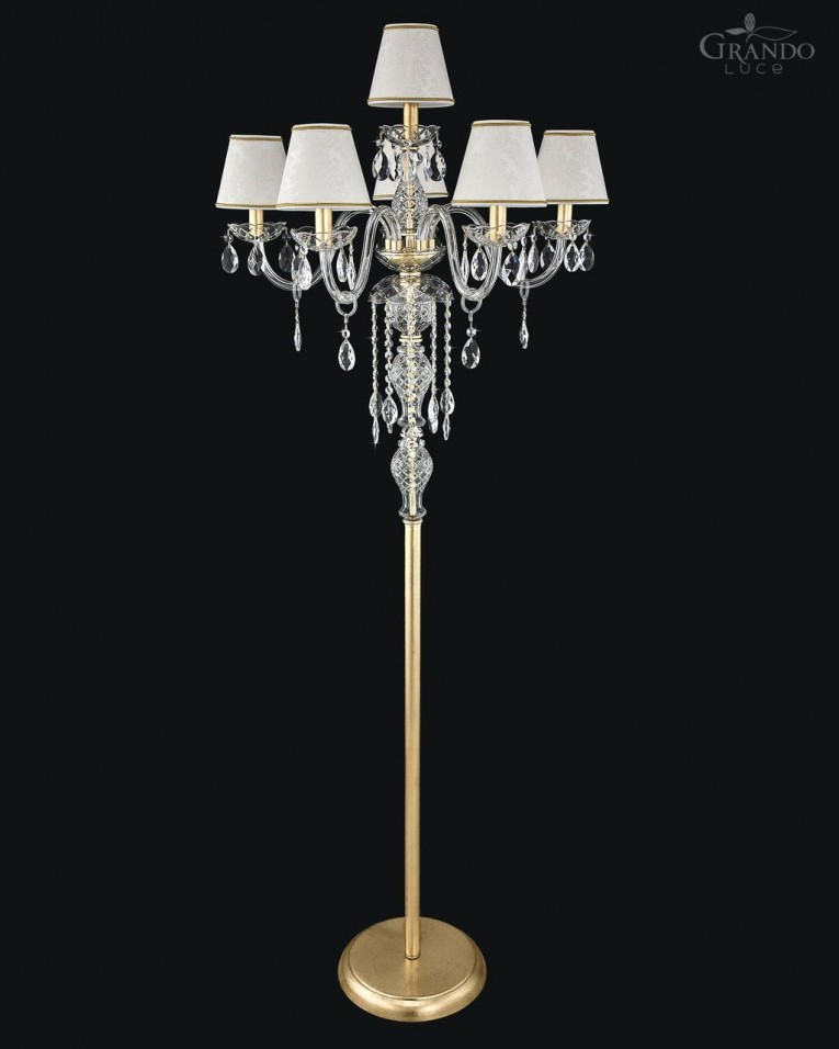 Brilliant Crystal Floor Lamp With Unique Design And Good For Your Home Light Ideas