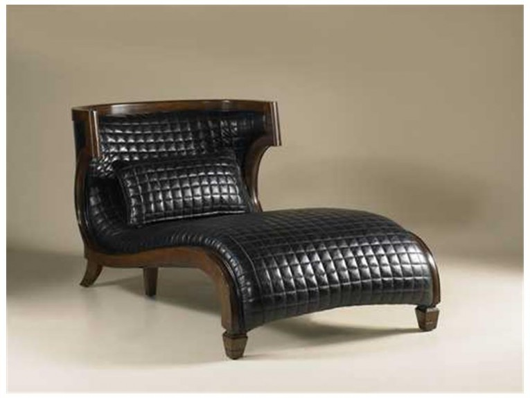 Brilliant Leather Chaise With Beautiful Colors And Laminate Flooring Also Unique Interior Display For Living Room Furniture Ideas