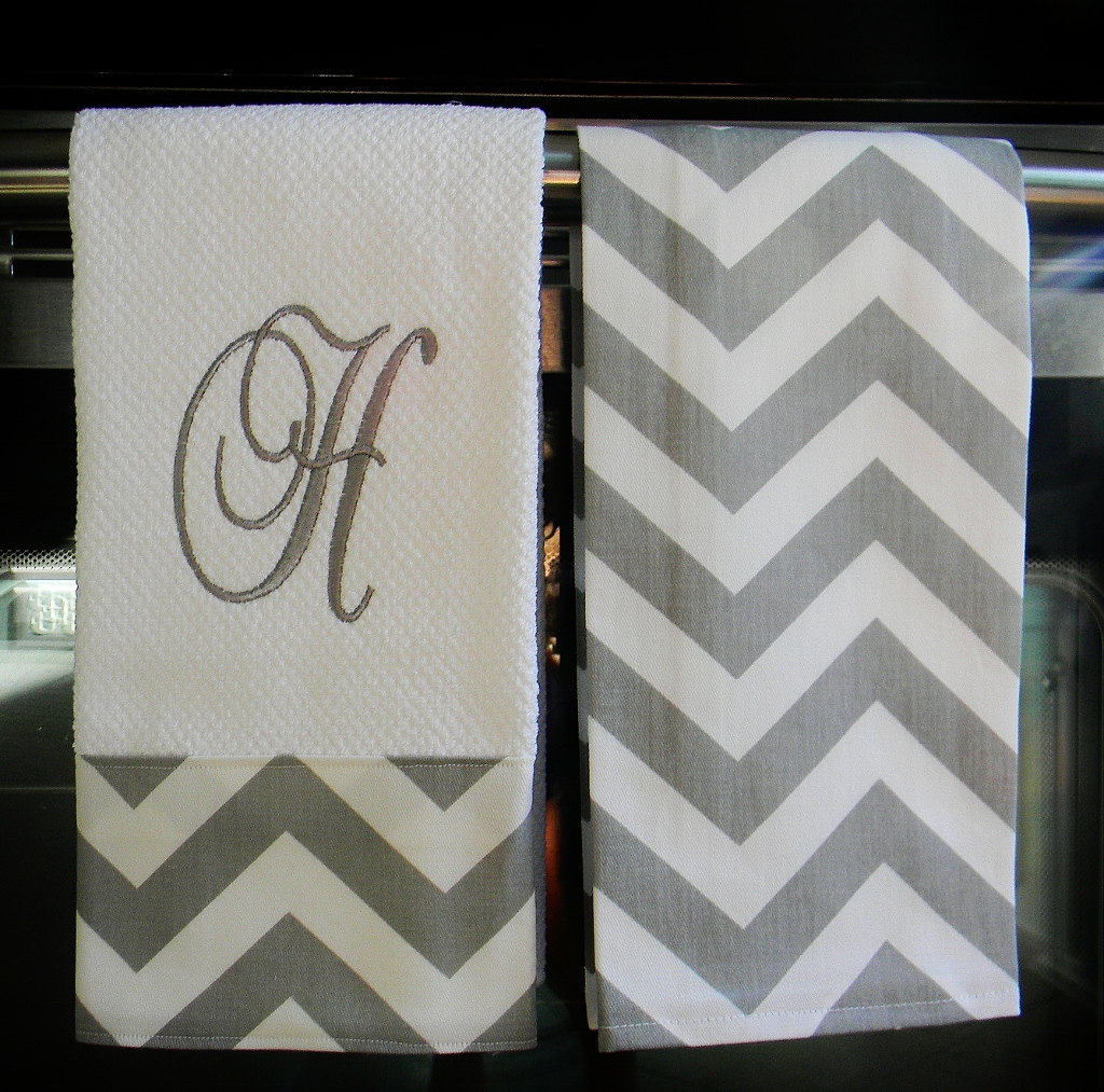 Brilliant monogrammed hand towels with Decorative logo pattern towel for bathing Ideas