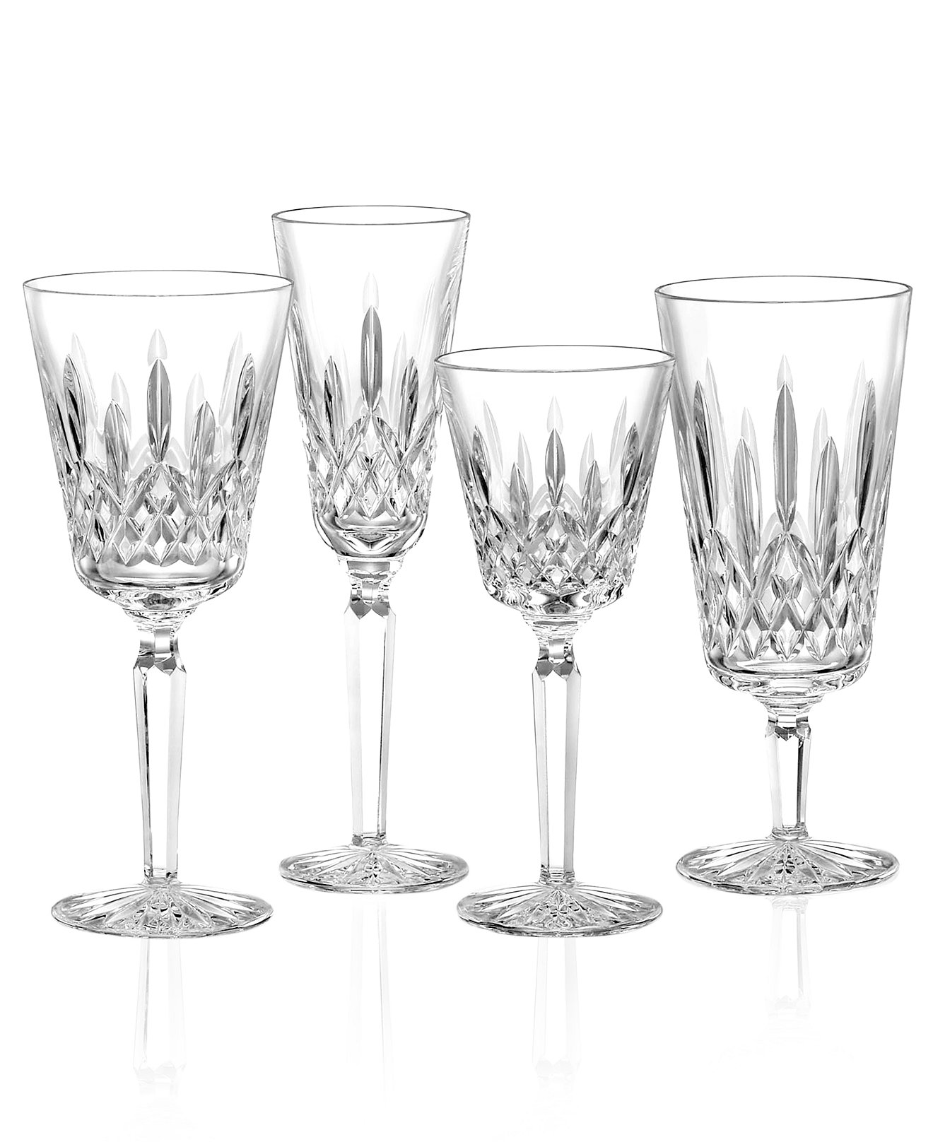 Brilliant waterford lismore with lismore goblet design glass waterford lismore