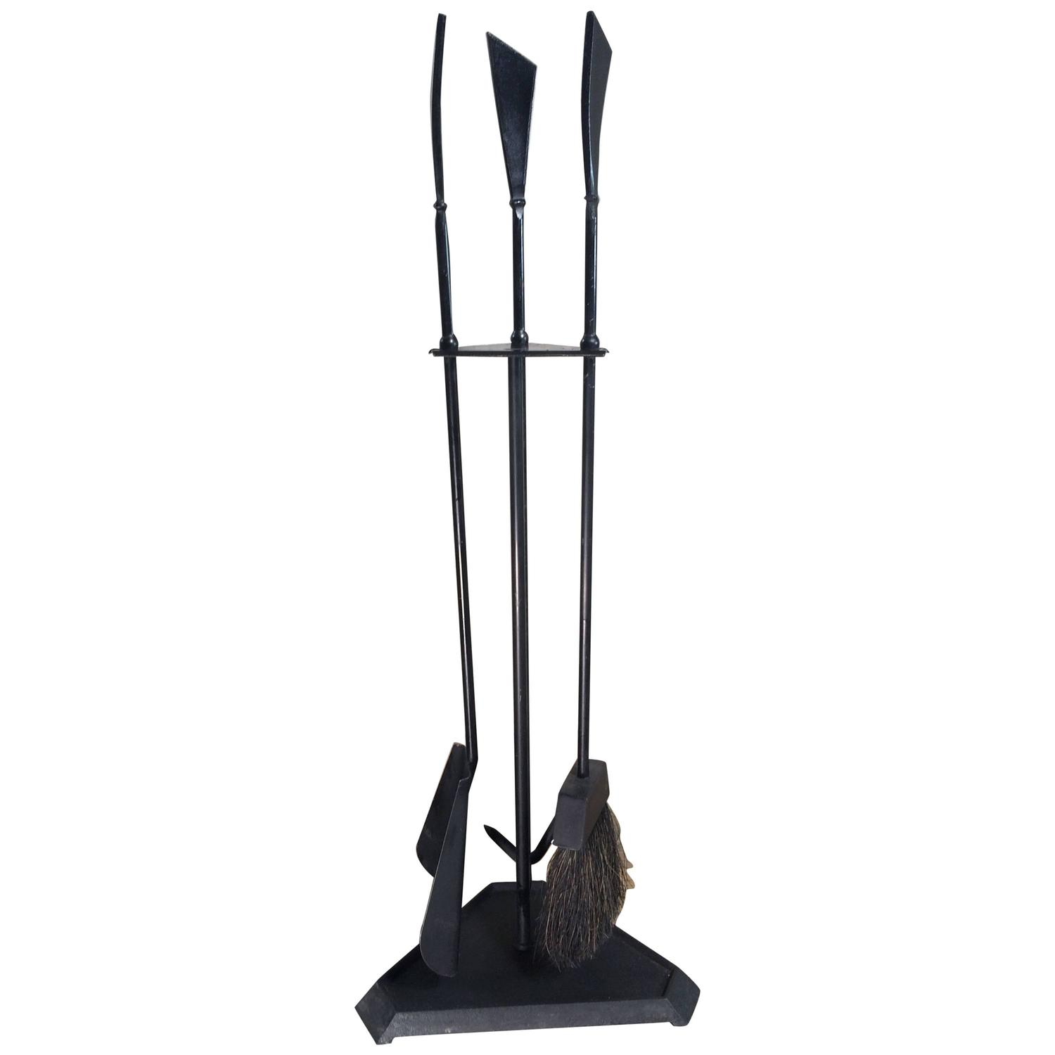 Brilliant wrought iron fireplace tools pine firelace tool for your home interior tool improvements