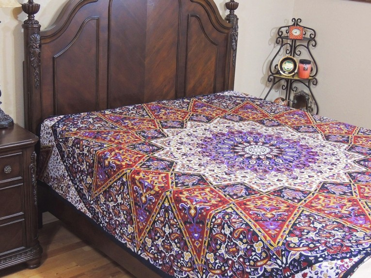 Charming Bohemian Comforter With Twin Full Queen Size Cotton Bohemian Comforter With Modern Bedding Sets