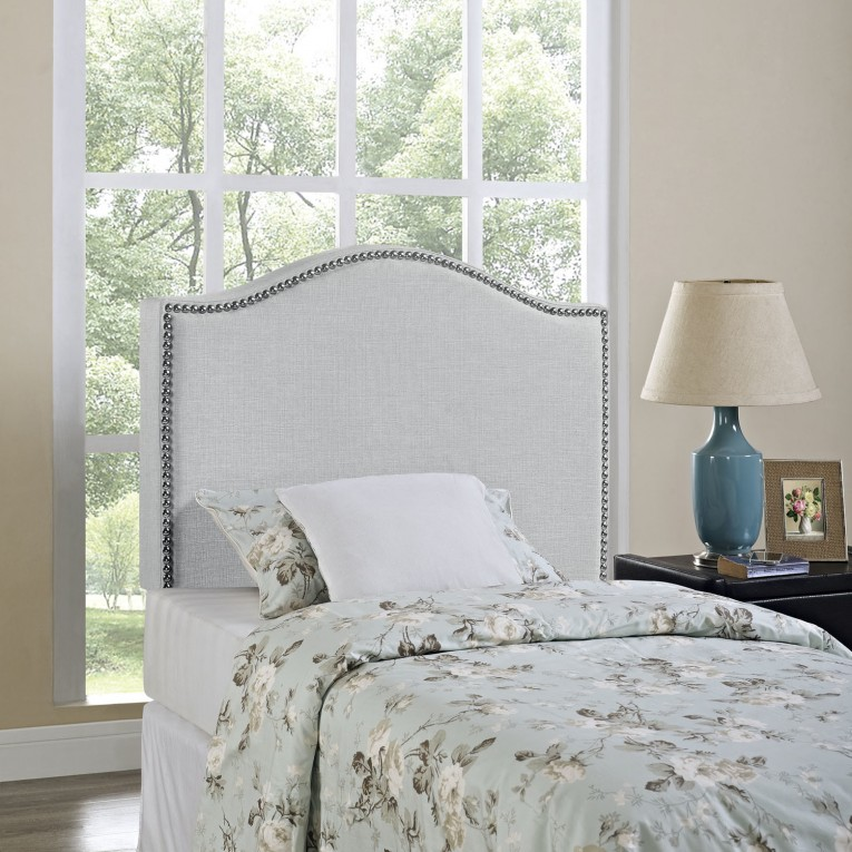 Charming Quilted Headboard With Pillows And Queen Bed Size Platform Decorating Combined With Night Lamp And Sidetable