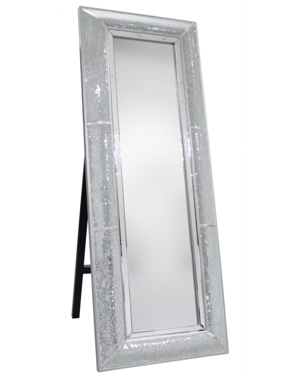 Beautiful Interior when using Floor Length Mirrors: Chic Floor Length Mirrors Ornate Ornament Mirror Frame Can Be Place At Your Beautiful Bedroom Ideas