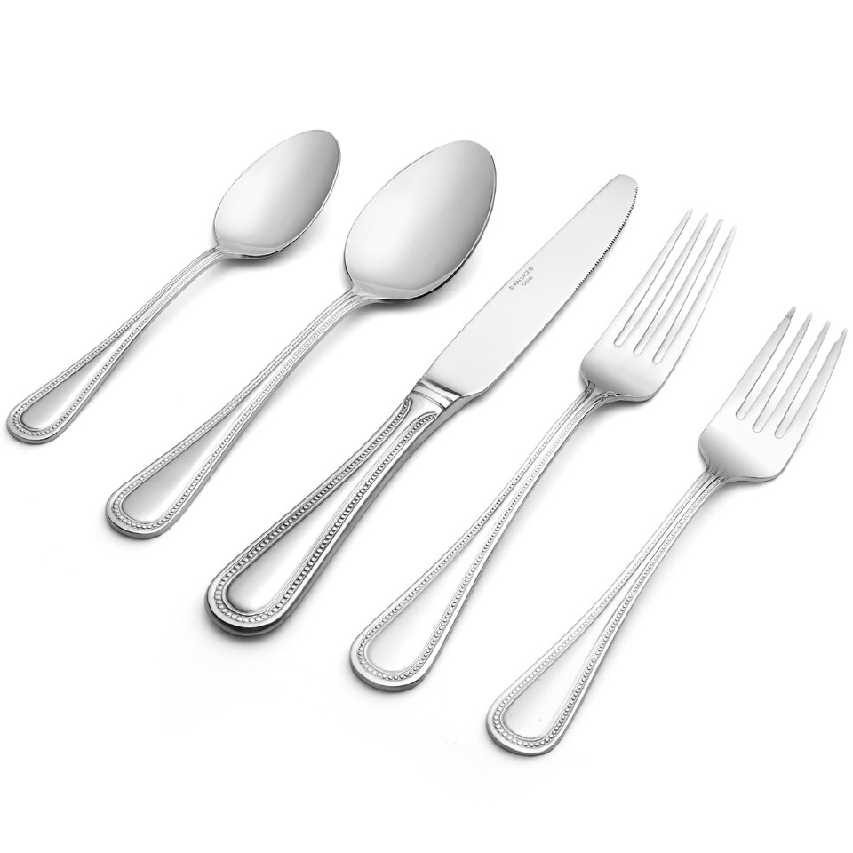 Mesmerizing Towle flatware for Serveware Ideas: Classy Towle Flatware 5 Piece Stainless Steel Flatware Set For Serveware Ideas