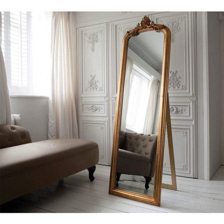 Comfy Floor Length Mirrors Ornate Ornament Mirror Frame Can Be Place At Your Beautiful Bedroom Ideas
