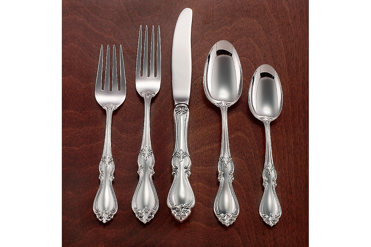Comfy towle flatware 5 piece stainless steel flatware set for serveware ideas