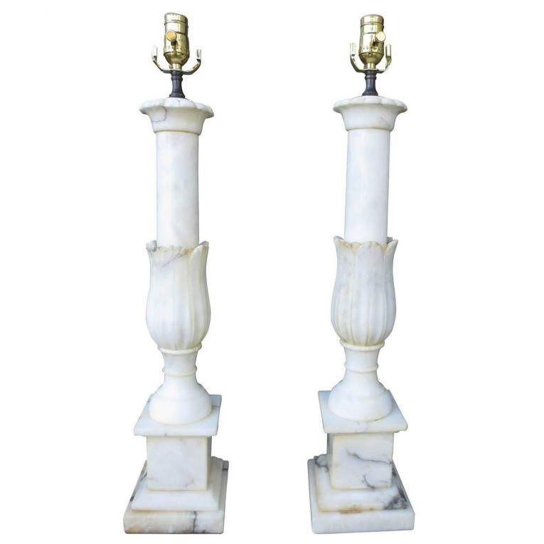 Cool Design Of Alabaster Lamps For Home Light Display Alabaster Lamps Ideas