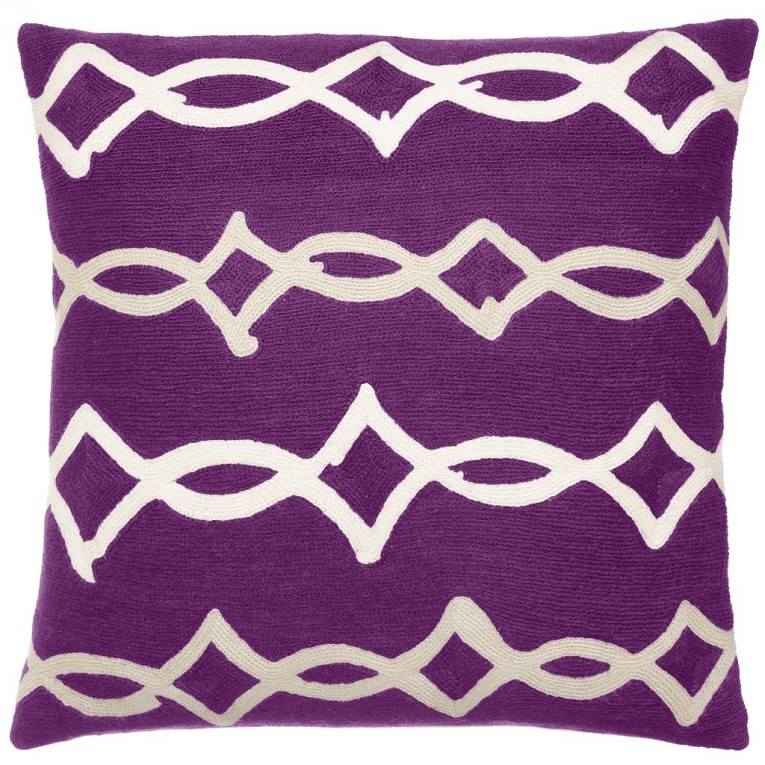 Cool Purple Throw Pillows With Lavender Pillow Colors And With Abstract Pattern Cushion For Sectional L Sofa Living Room Ideas