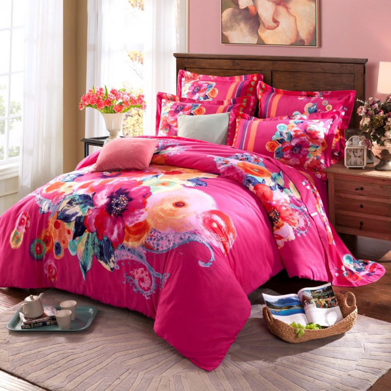 Cozy Bohemian Comforter With Twin Full Queen Size Cotton Bohemian Comforter With Modern Bedding Sets