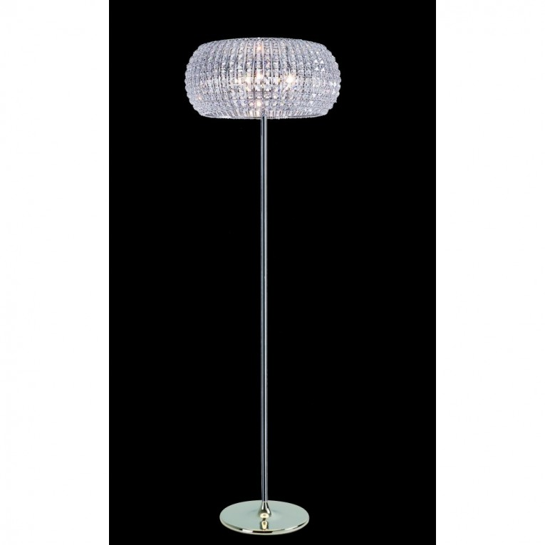 Cozy Crystal Floor Lamp With Unique Design And Good For Your Home Light Ideas