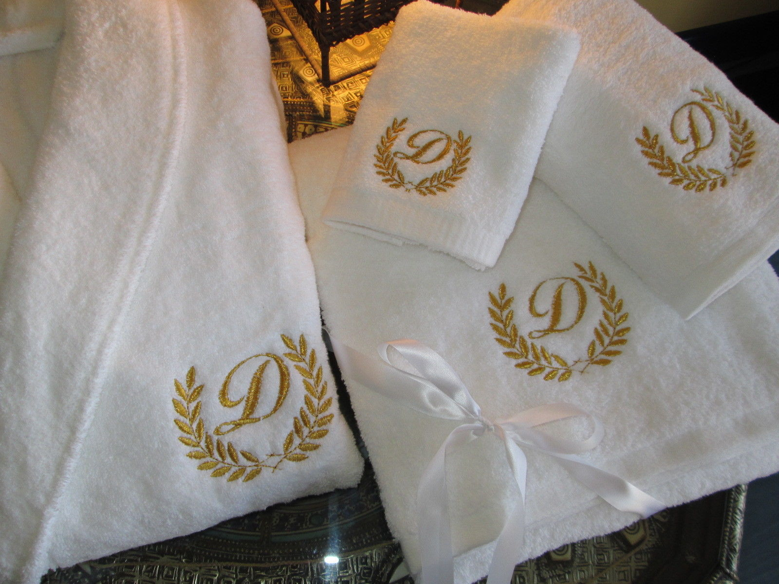 Cozy monogrammed bath towels with personalized towel of monogrammed towel set ideas