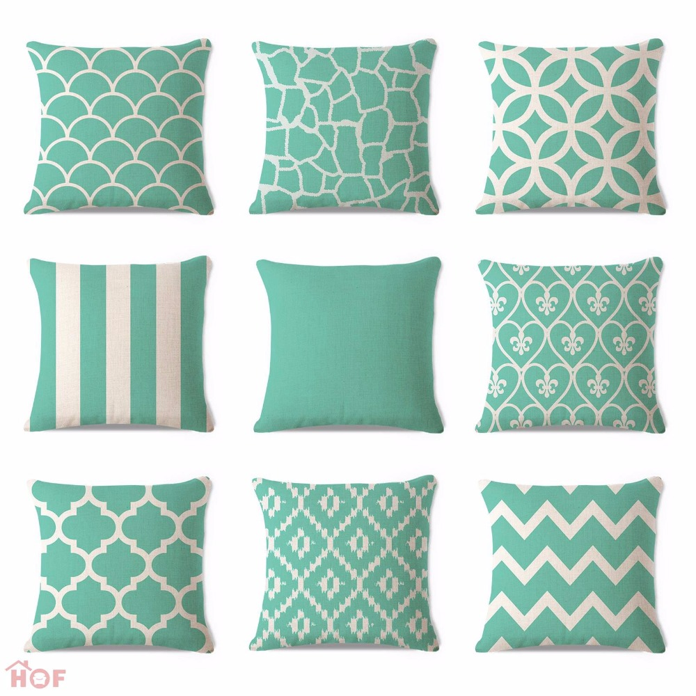 Cozy pattern of cheap decorative pillows for bed or sofas furniture ideas