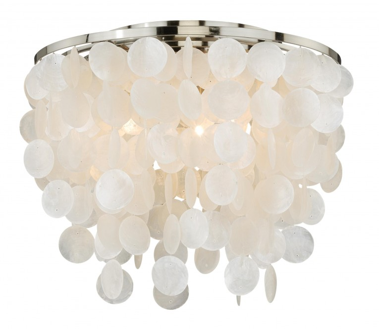 Creative Capiz Shells Wall Mirror Gold With Light Capiz Shells For Your Home Lighting Ideas