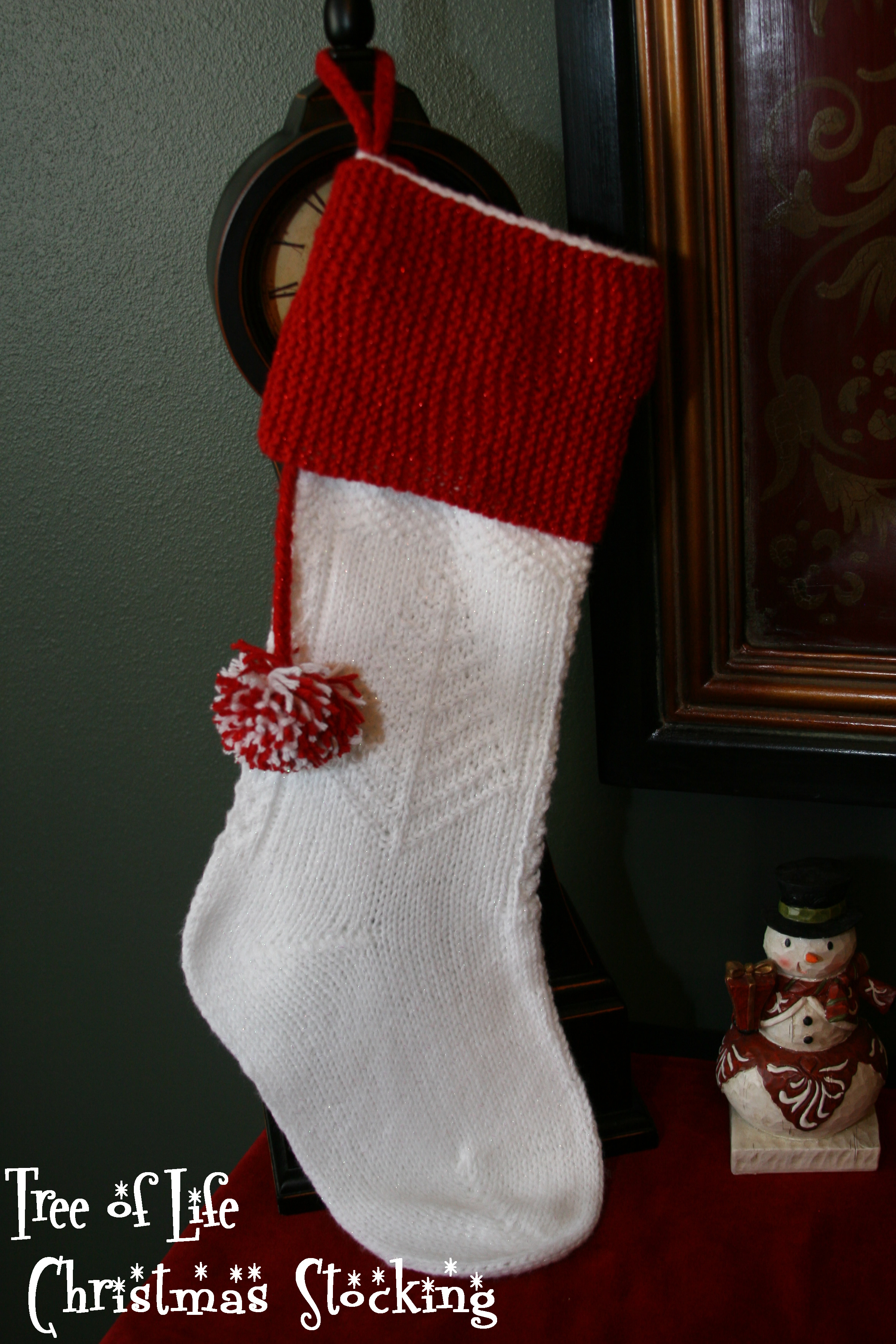 Creative knit christmas stockings with multicolorful christmas stocking and fireplace at chistmas day interior design
