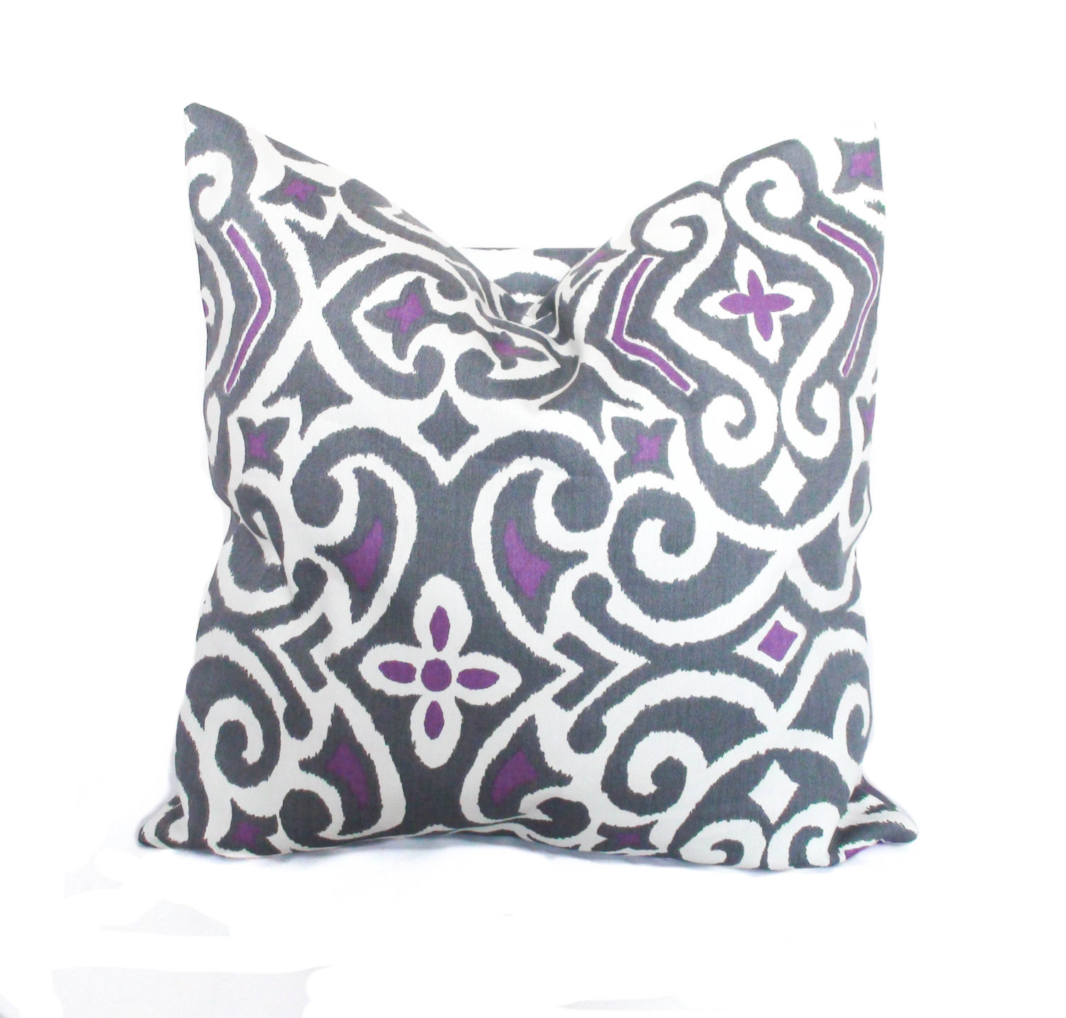 Cute Purple Throw Pillows With Lavender Pillow Colors And With Abstract Pattern Cushion For Sectional L Sofa Living Room Ideas