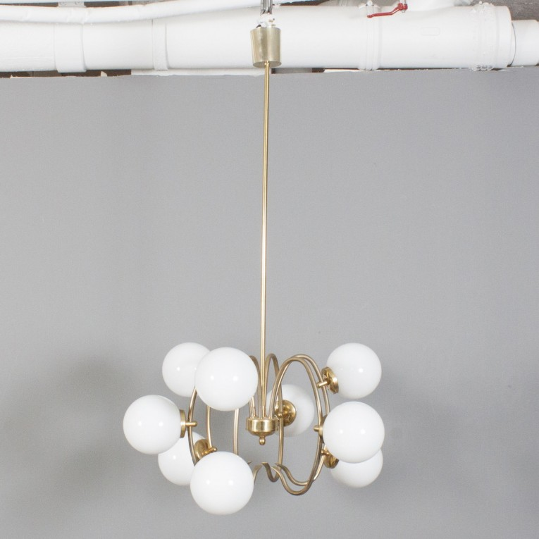 Cute Unique Design Of Orbit Chandelier With Iron Or Stainless For Ceiling Lighting Decorating Ideas