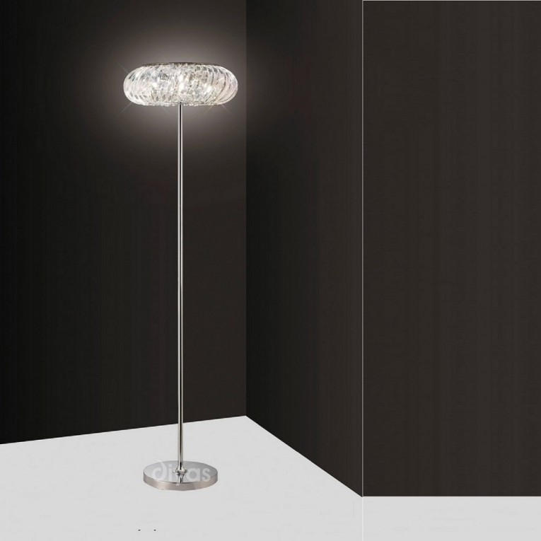 Dazzling Crystal Floor Lamp With Unique Design And Good For Your Home Light Ideas