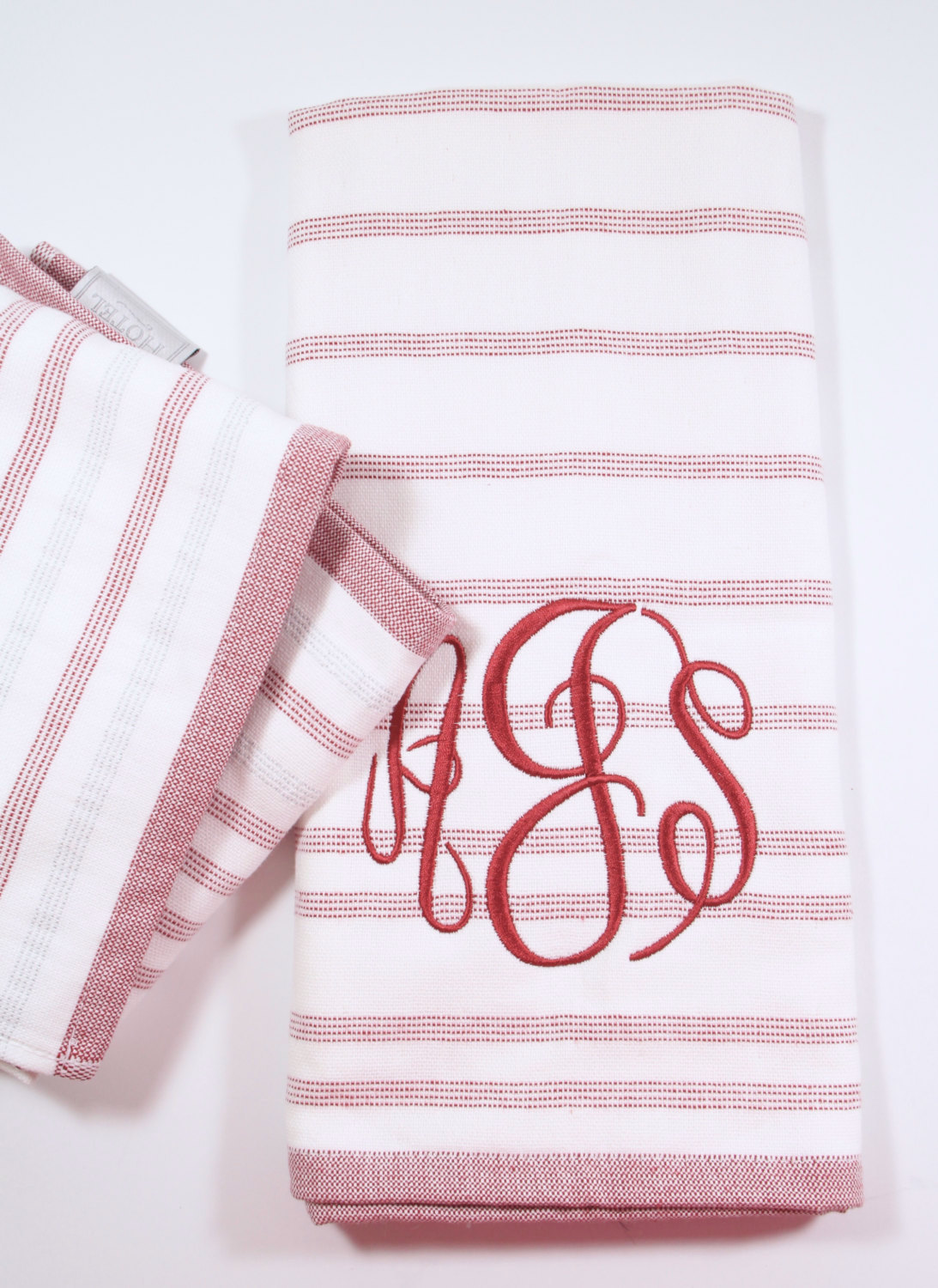 Dazzling monogrammed hand towels with Decorative logo pattern towel for bathing Ideas