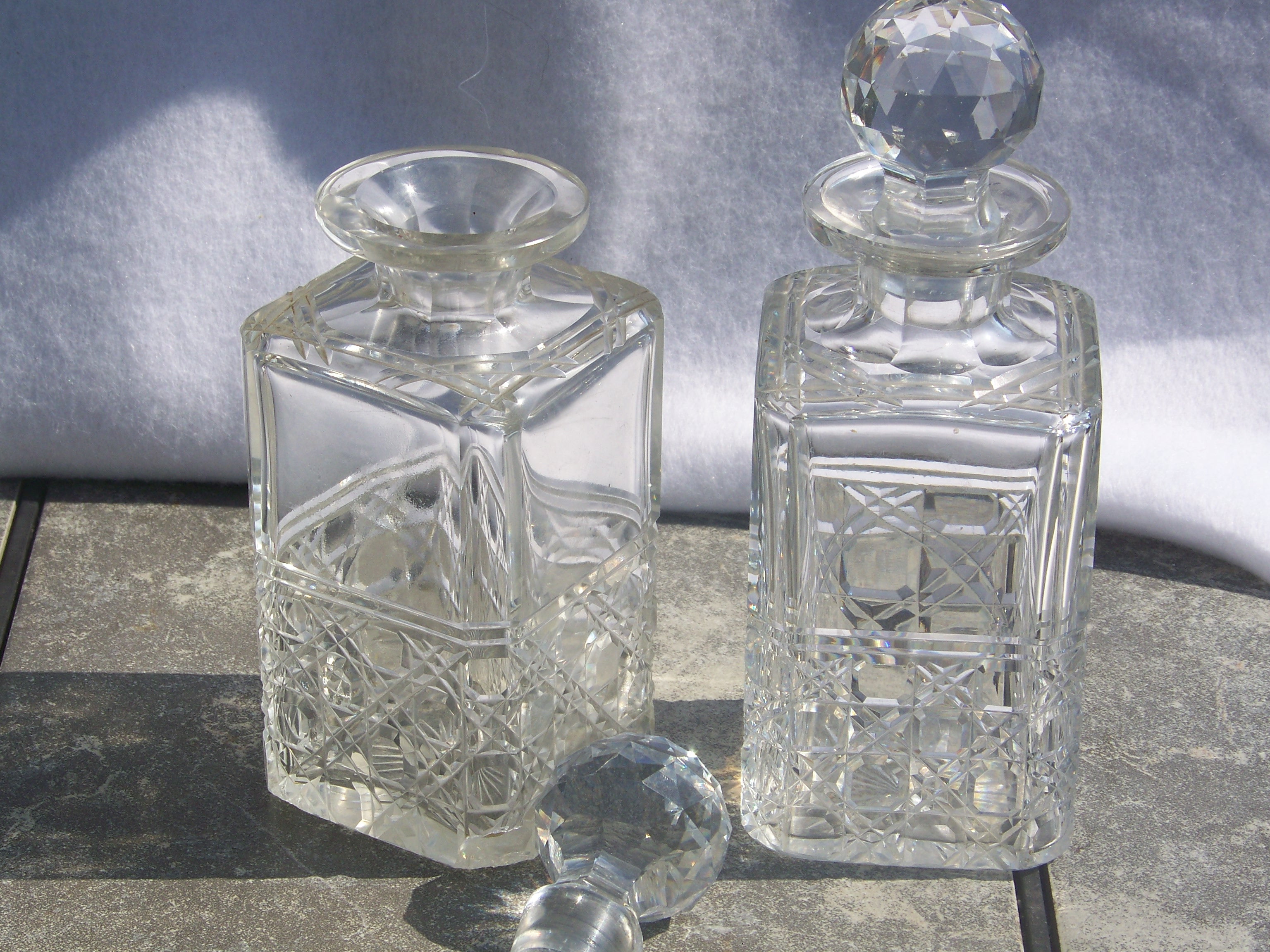 Dazzling waterford crystal decanter waterford crystal lismore for dining display serveware ideas
