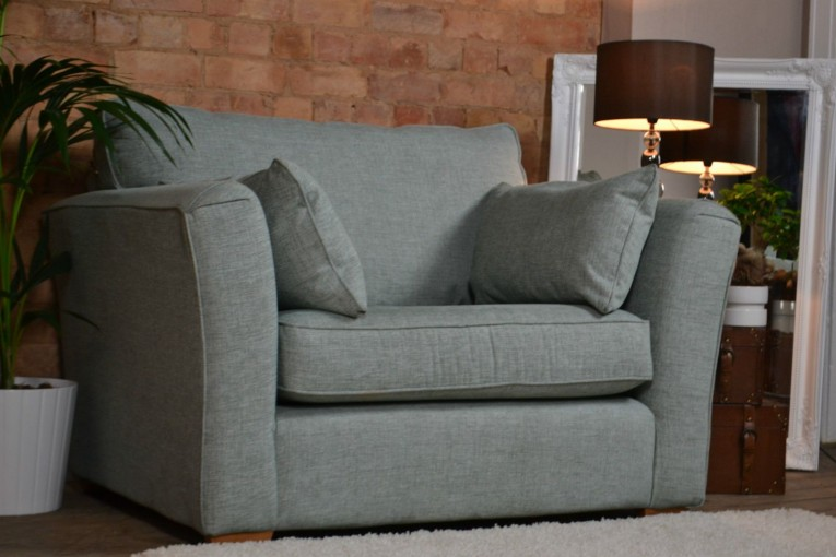 Elegant Cannon Swivel Cuddle Chair With Cushion And For Your Beautiful Living Room Ideas