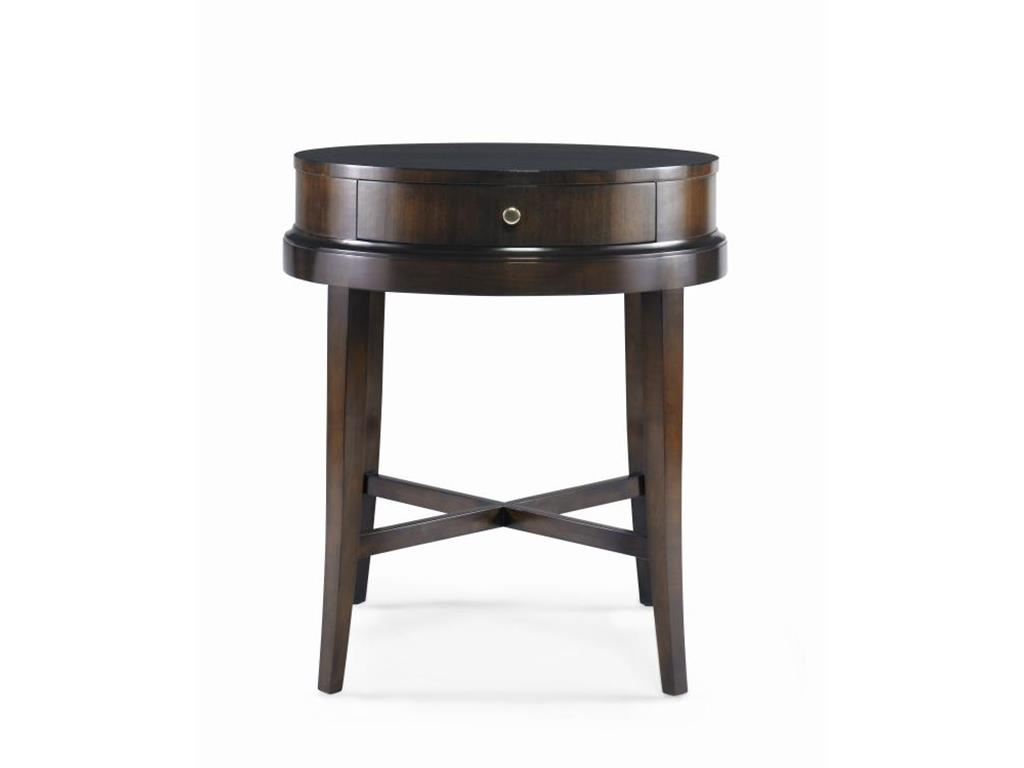 Elegant tyndall furniture lowes table with round lamp