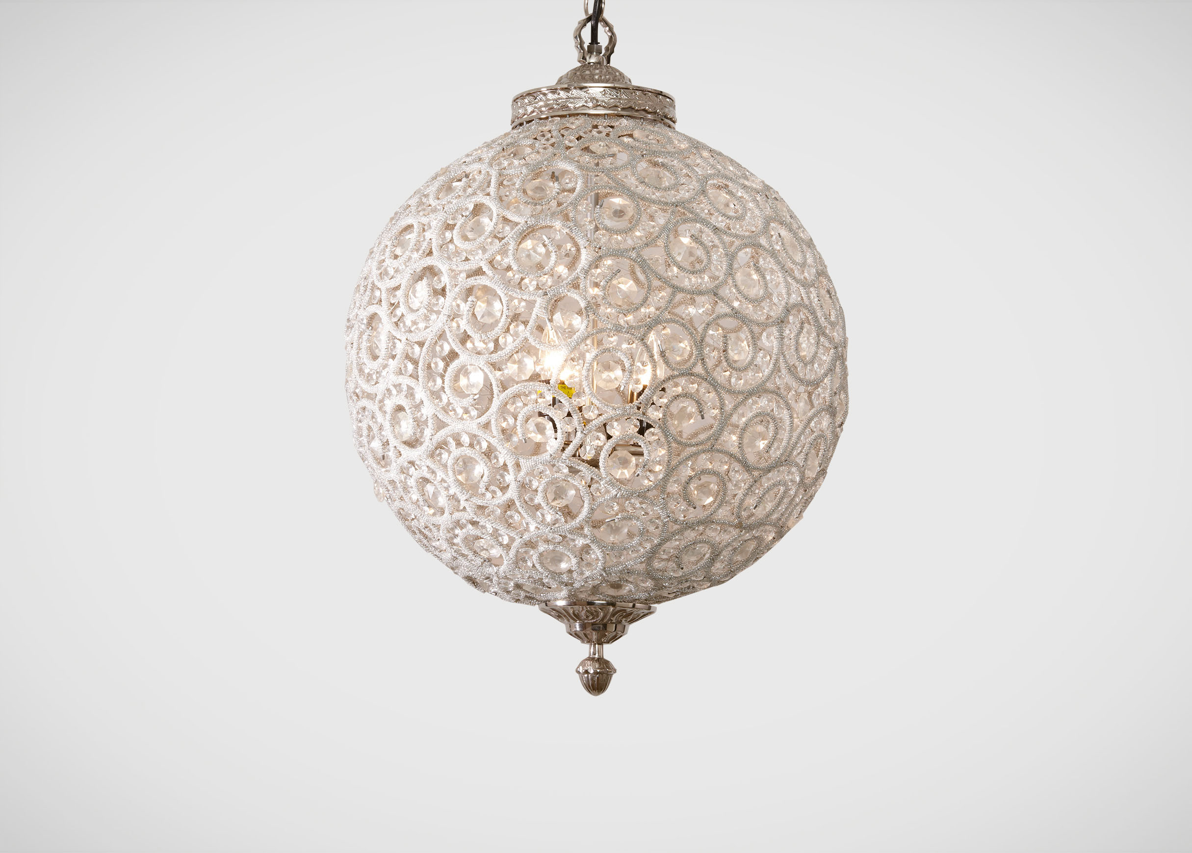 Engaging sphere chandelier metal orb chandelier with interesting Cheap Price for your Home Lighting