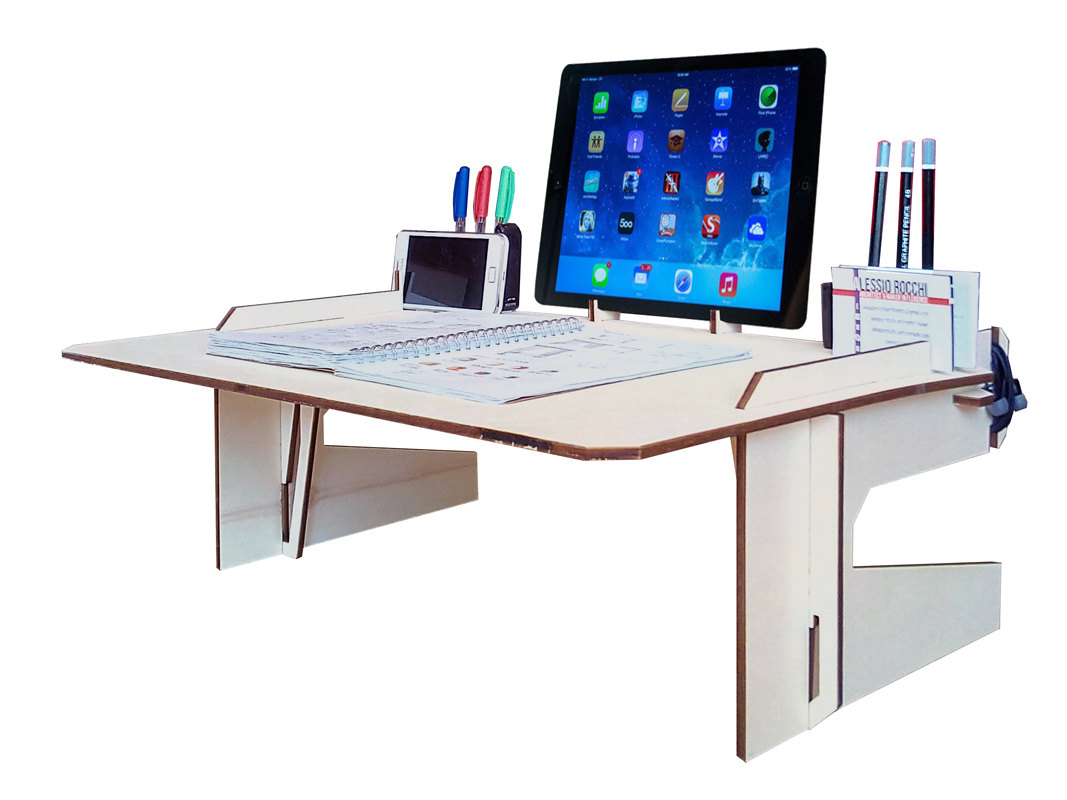 Enjoyable laptop desk stand with aluminium feet with roll for work space or office furniture Ideas