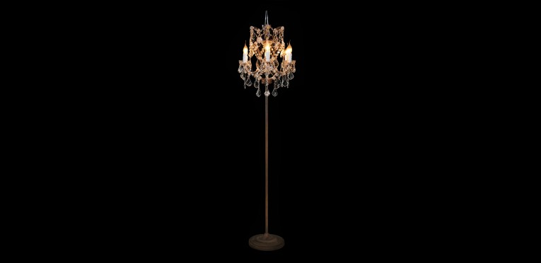 Enticing Crystal Floor Lamp With Unique Design And Good For Your Home Light Ideas