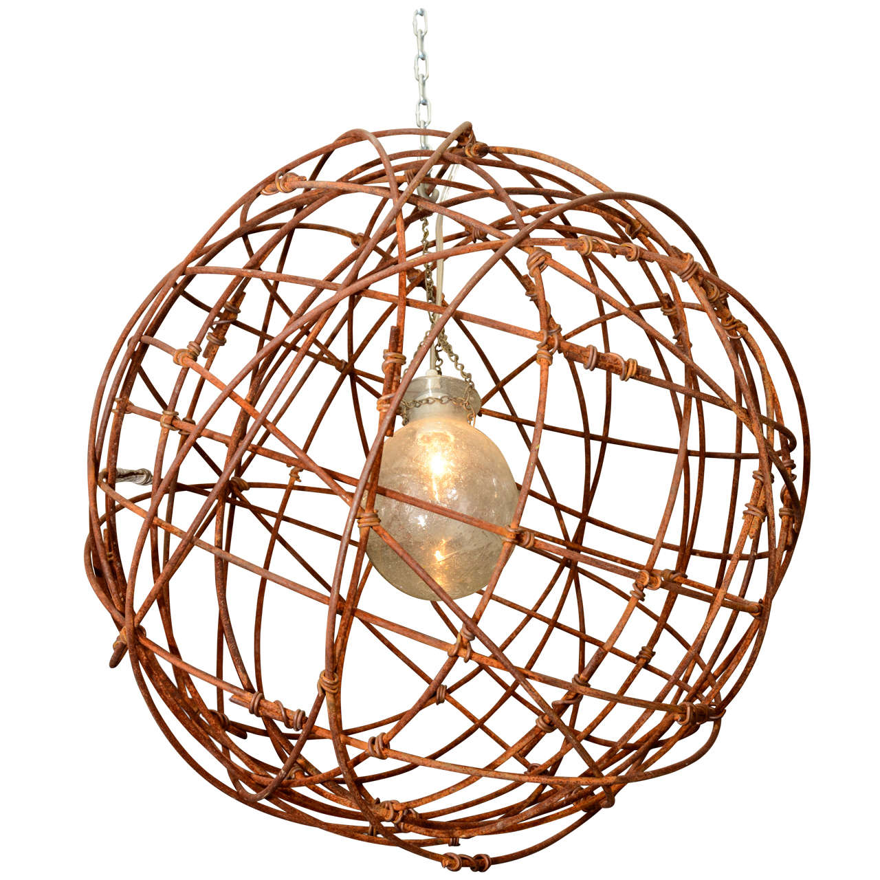 Enticing sphere chandelier metal orb chandelier with interesting Cheap Price for your Home Lighting
