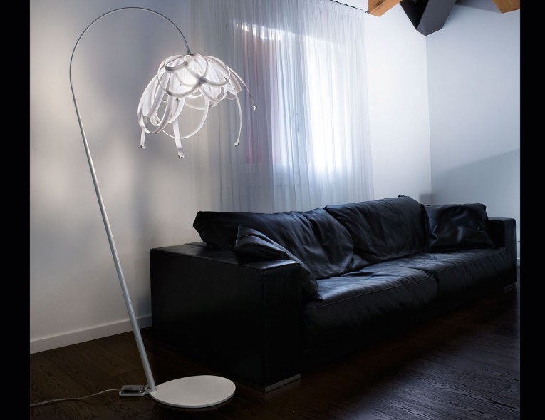 Entrancing Crystal Floor Lamp With Unique Design And Good For Your Home Light Ideas
