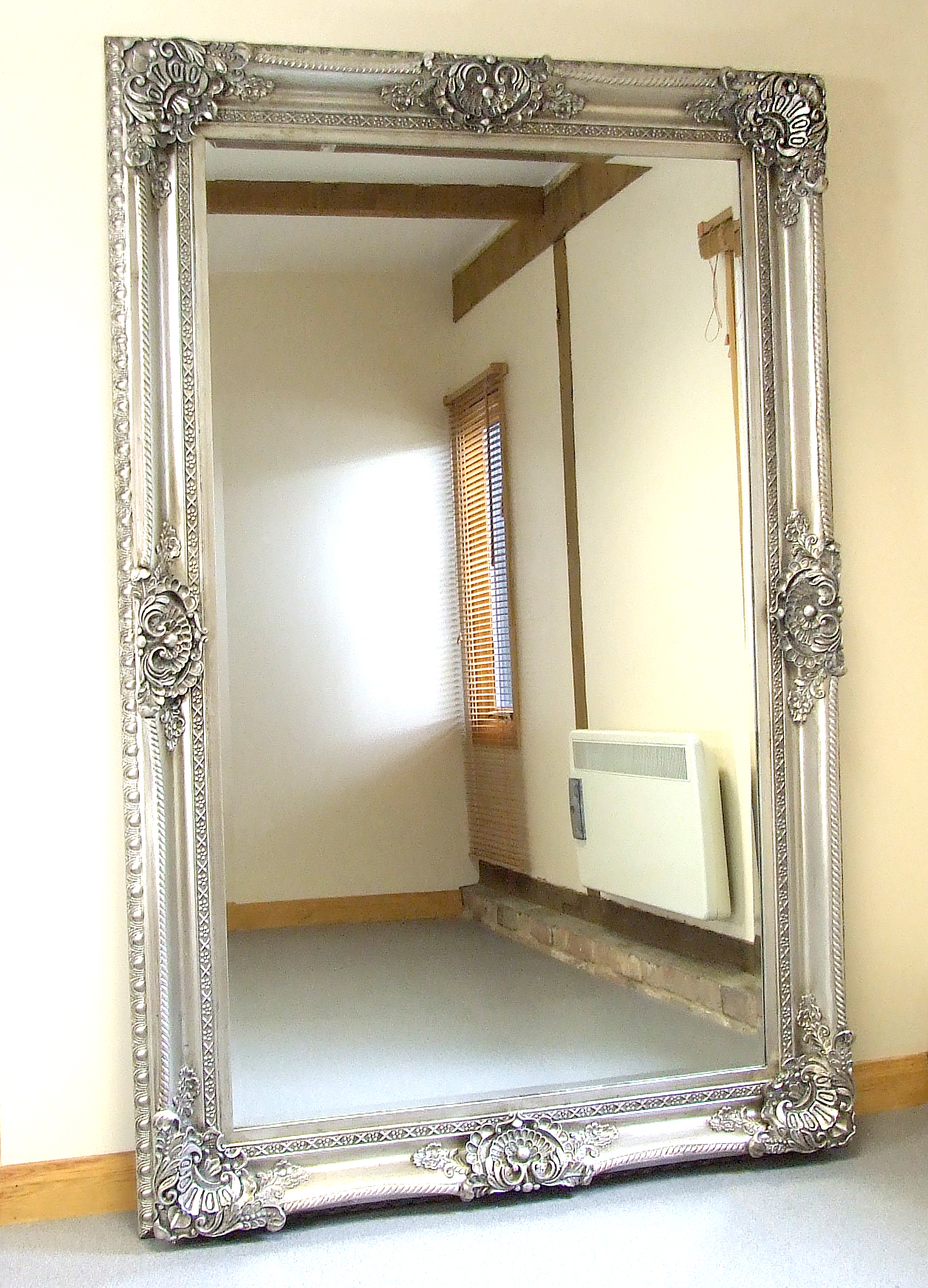 Entrancing floor length mirrors ornate ornament mirror frame can be place at your beautiful bedroom Ideas