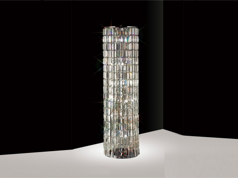 Excellent Crystal Floor Lamp With Unique Design And Good For Your Home Light Ideas
