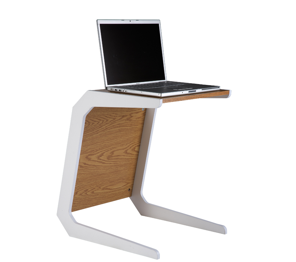 Exciting laptop desk stand with aluminium feet with roll for work space or office furniture Ideas