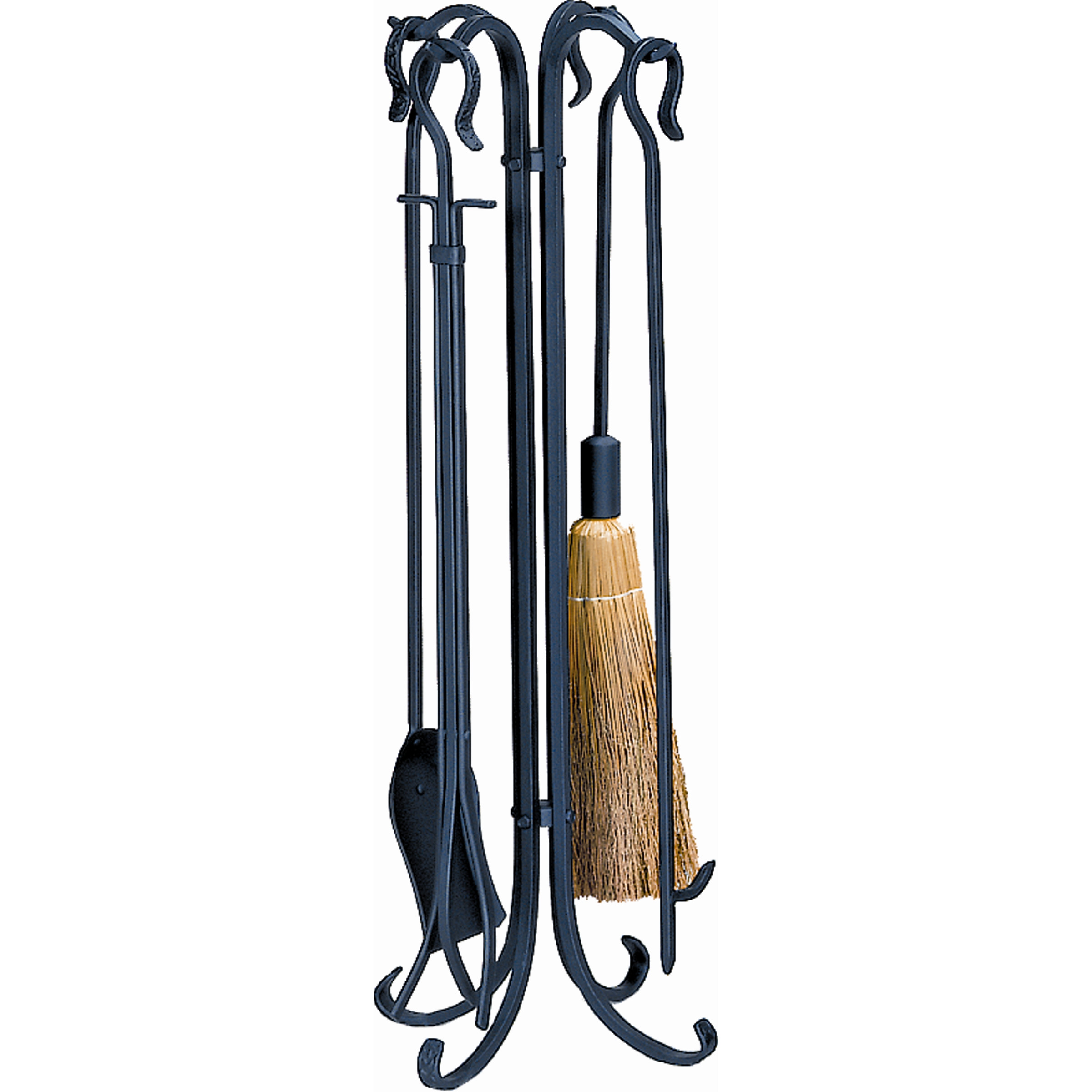 Exquisite wrought iron fireplace tools pine firelace tool for your home interior tool improvements