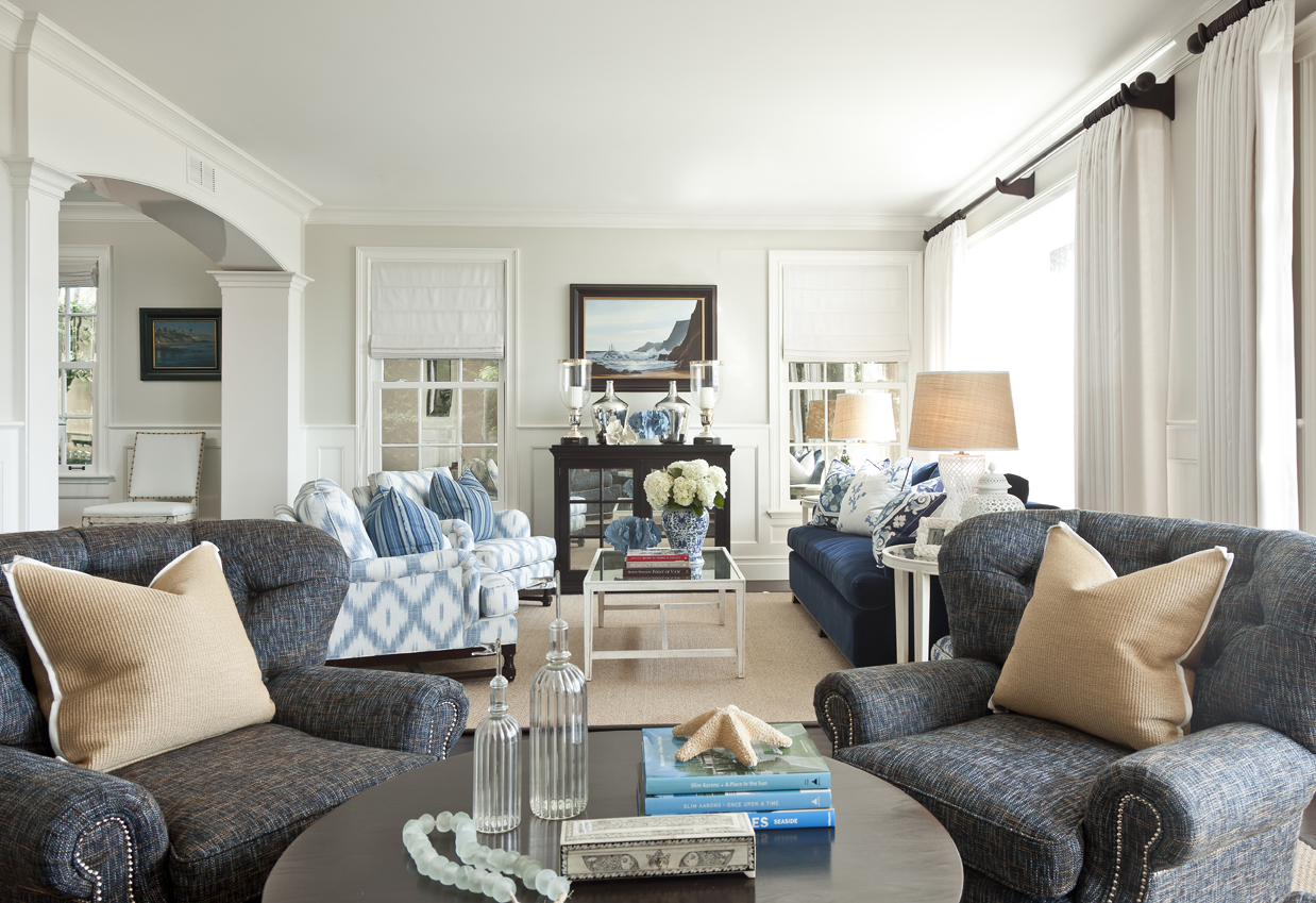 Extravagant barclay butera with unique pattern interior for living room combined with barclay butera furniture ideas