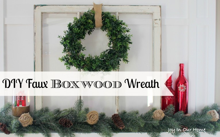 Fabulous Artificial Boxwood Wreath