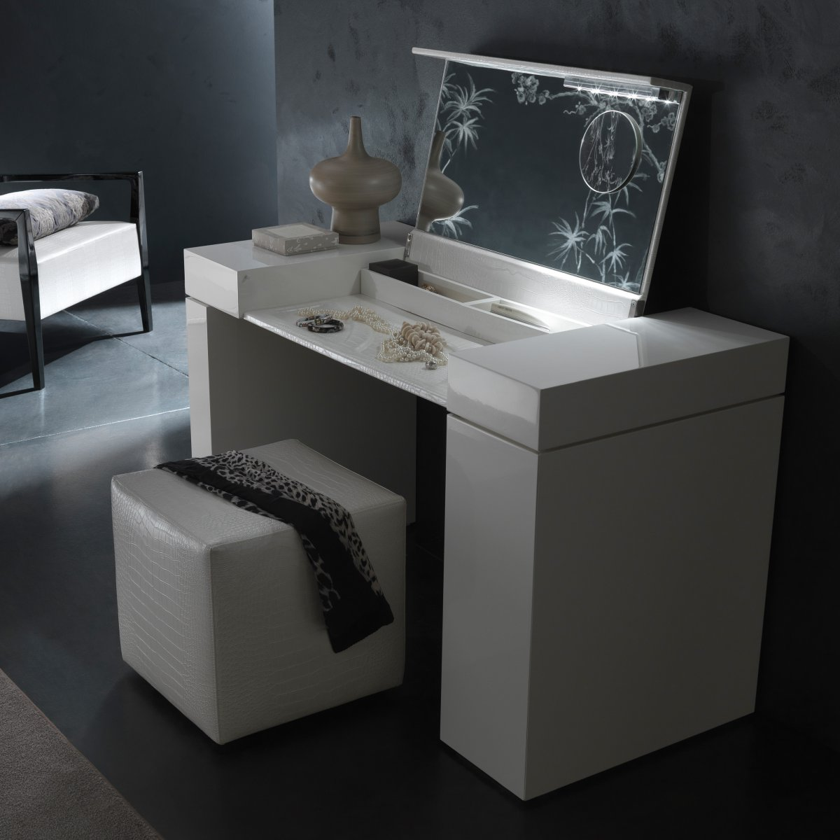 Fascinating Hayworth Vanity for Bedroom Furniture Ideas: Fabulous Hayworth Vanity Mirrored Vanity And Ikea Vanity Also Ikea Rug Hayworth Rug Ideas