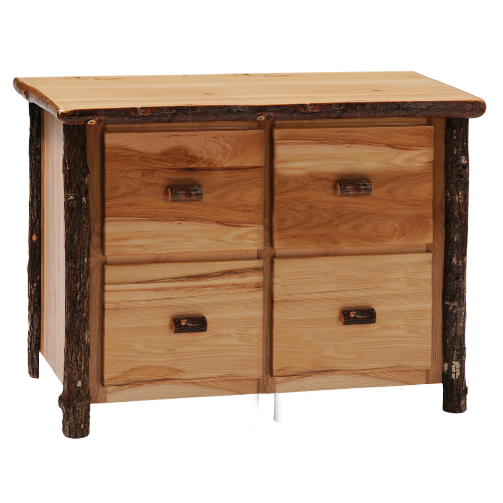 Fabulous hickory furniture with pine wooden decorating