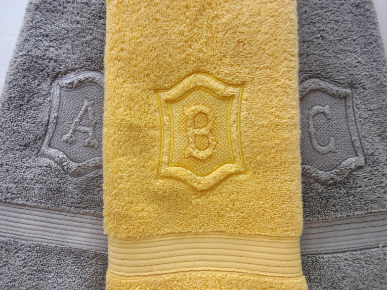 Fabulous Monogrammed Bath Towels With Personalized Towel Of Monogrammed Towel Set Ideas
