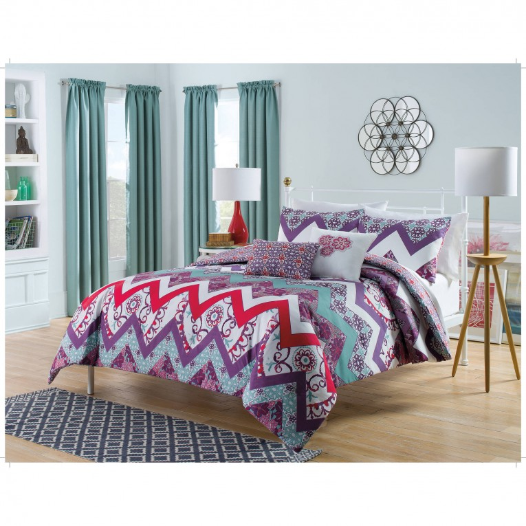 Fascinating Bohemian Comforter With Twin Full Queen Size Cotton Bohemian Comforter With Modern Bedding Sets