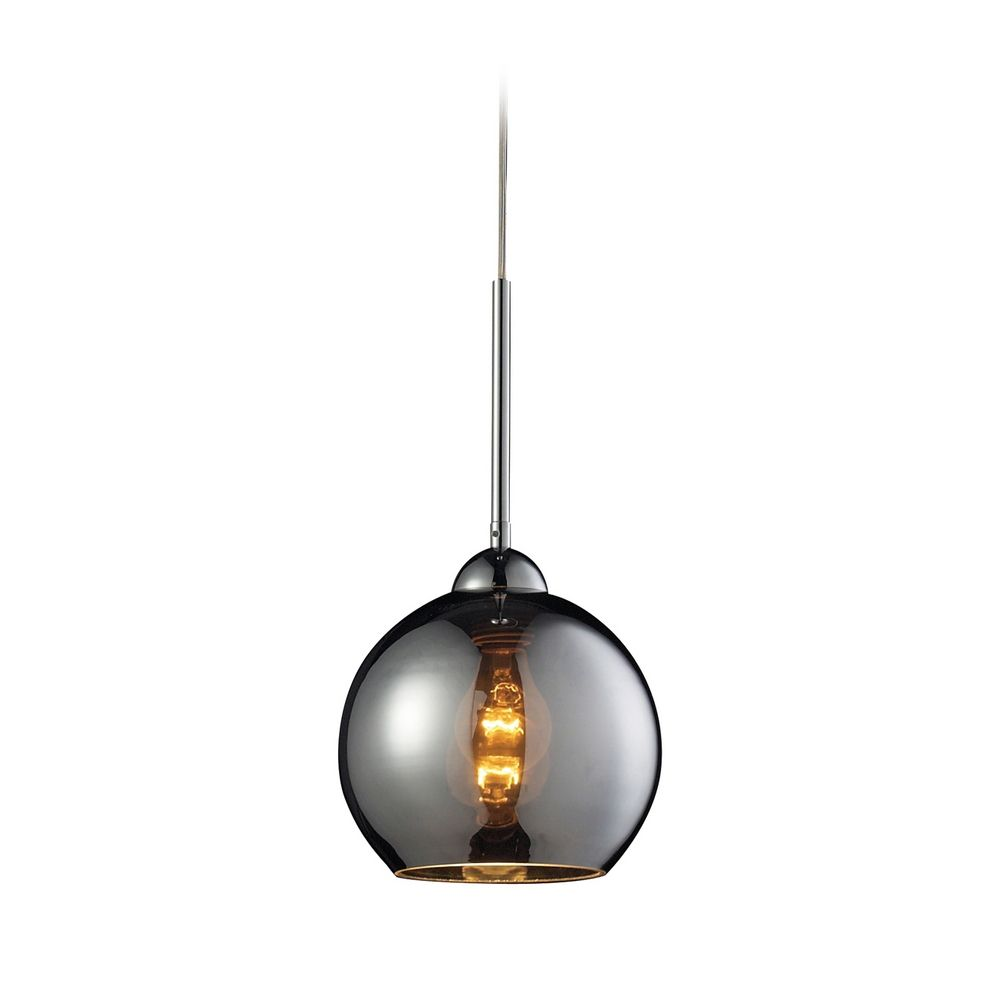 Fascinating traditonal mercury glass pendant light