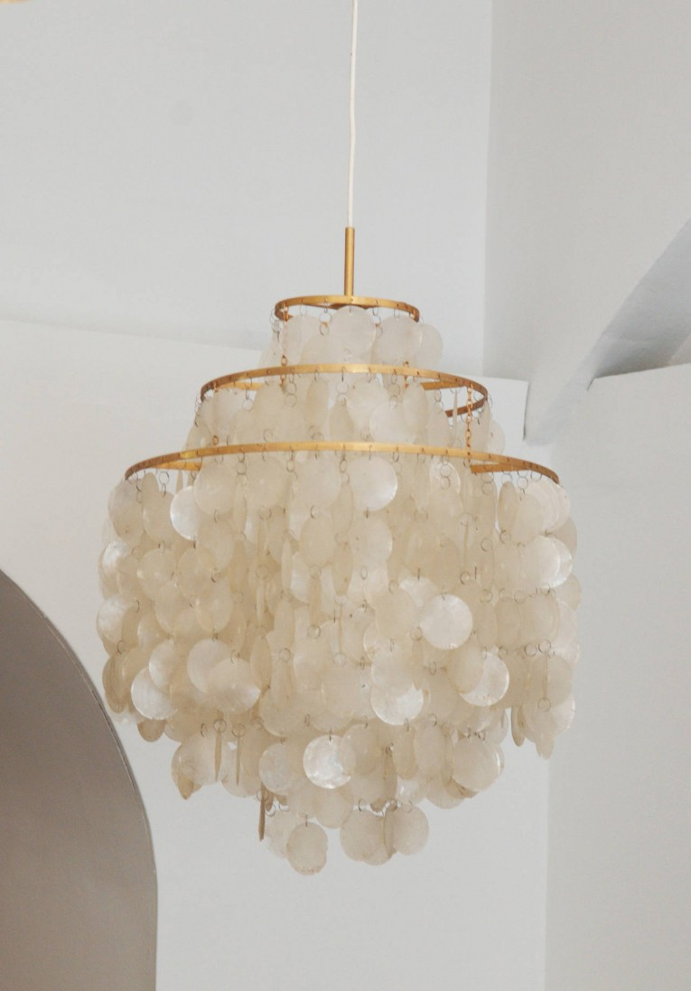 Great Capiz Shells Wall Mirror Gold With Light Capiz Shells For Your Home Lighting Ideas