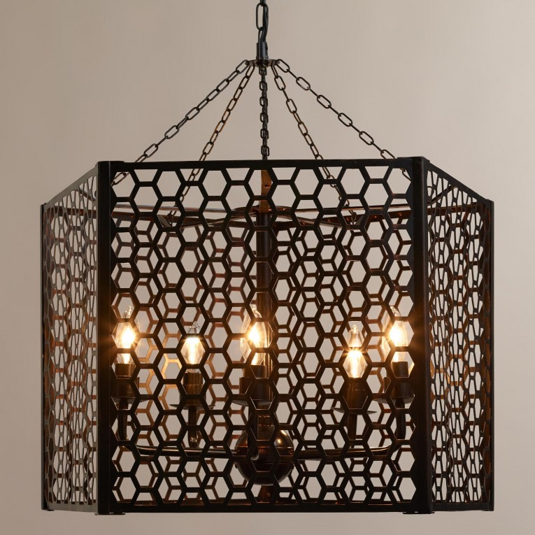Mesmerizing Unique Design Of Orbit Chandelier With Iron Or Stainless For Ceiling Lighting Decorating Ideas