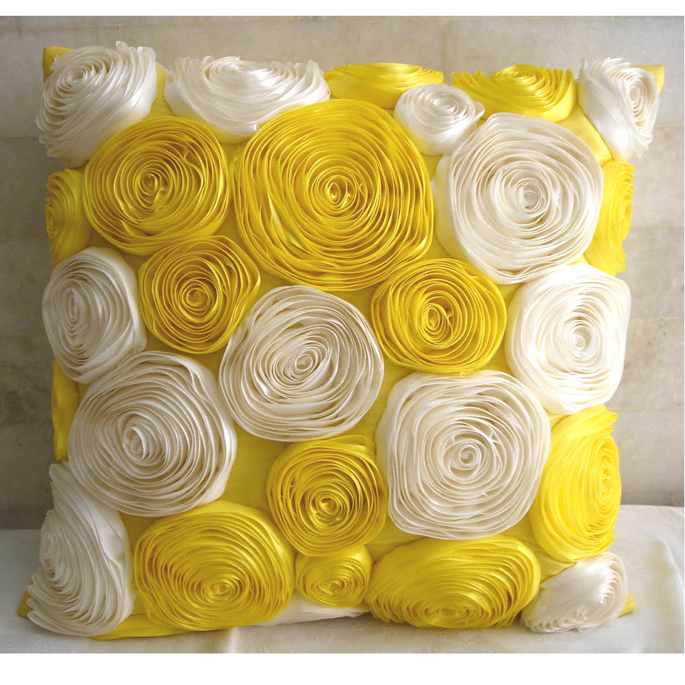 Mesmerizing yellow throw pillows with 20x20 inches and with true patterns yellow throw pillows for living room ideas