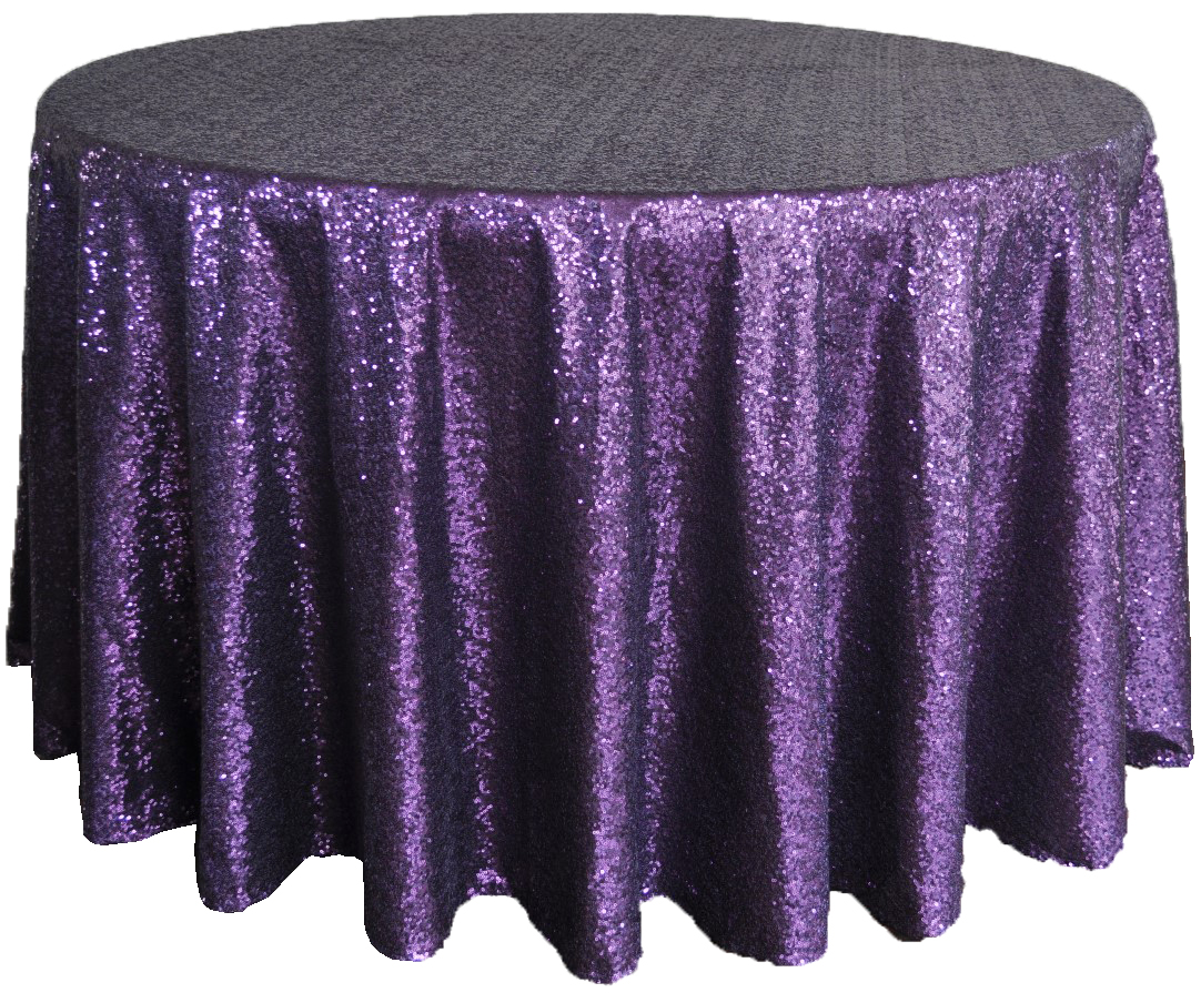 Unique Colors 120 Round Tablecloth for Dining Room Furniture Ideas: Purple Black 120 Round Tablecloth For Dining Room Furniture Decor Ideas