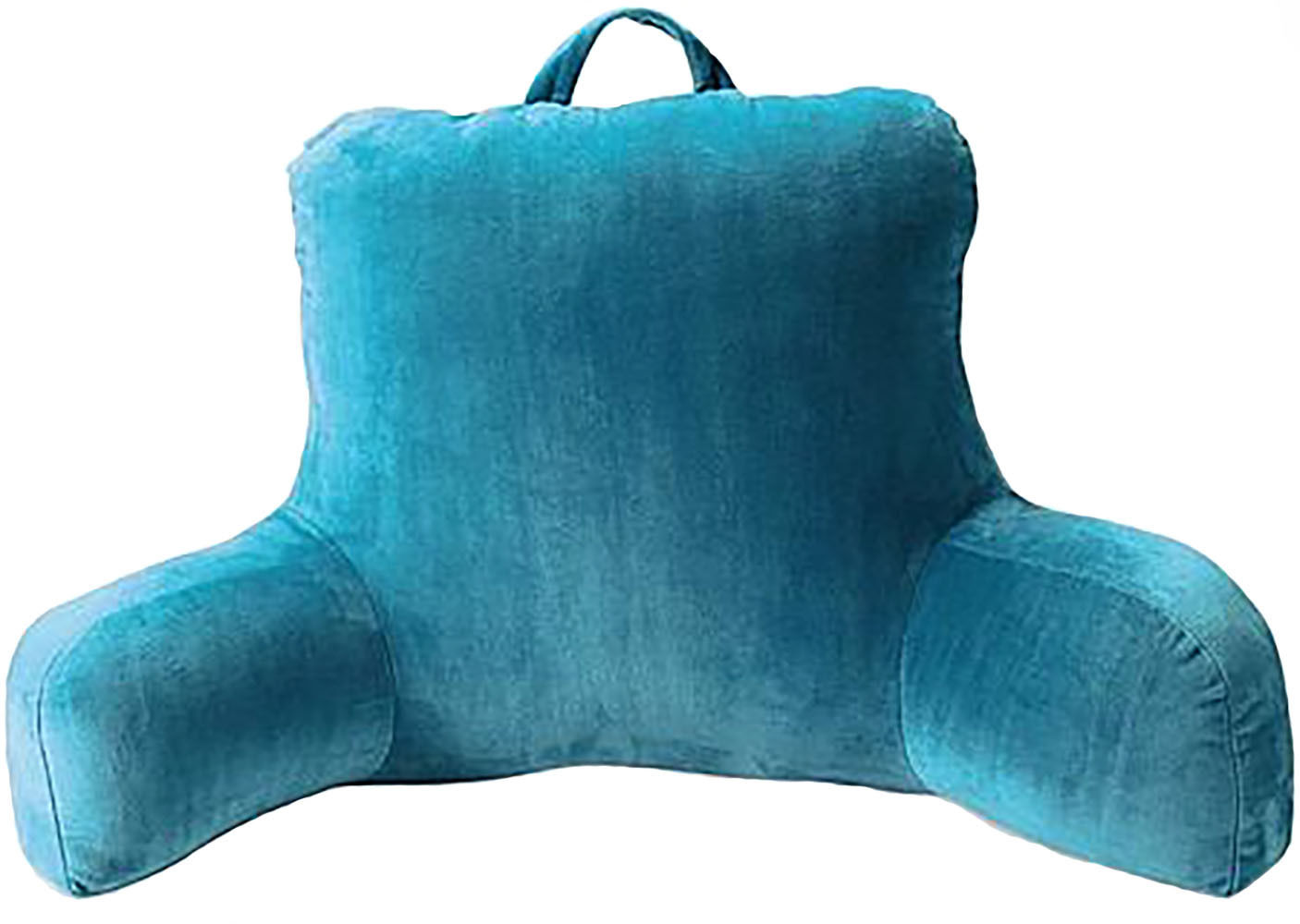 Tel Blue backrest pillow with arms ideas