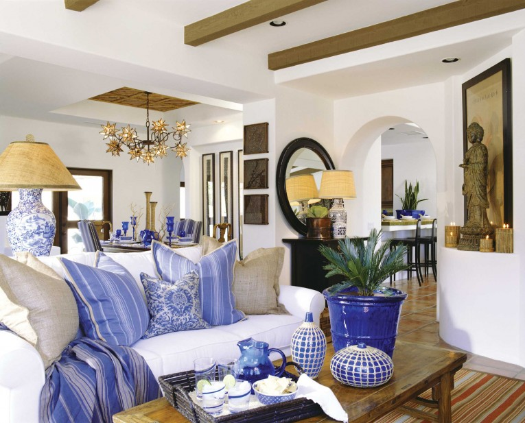 Adorable Barclay Butera With Unique Pattern Interior For Living Room Combined With Barclay Butera Furniture Ideas