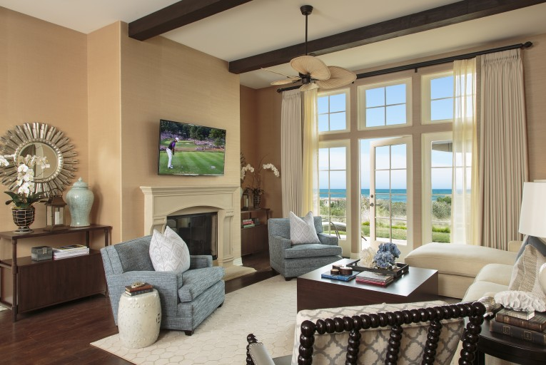 Alluring Barclay Butera With Unique Pattern Interior For Living Room Combined With Barclay Butera Furniture Ideas