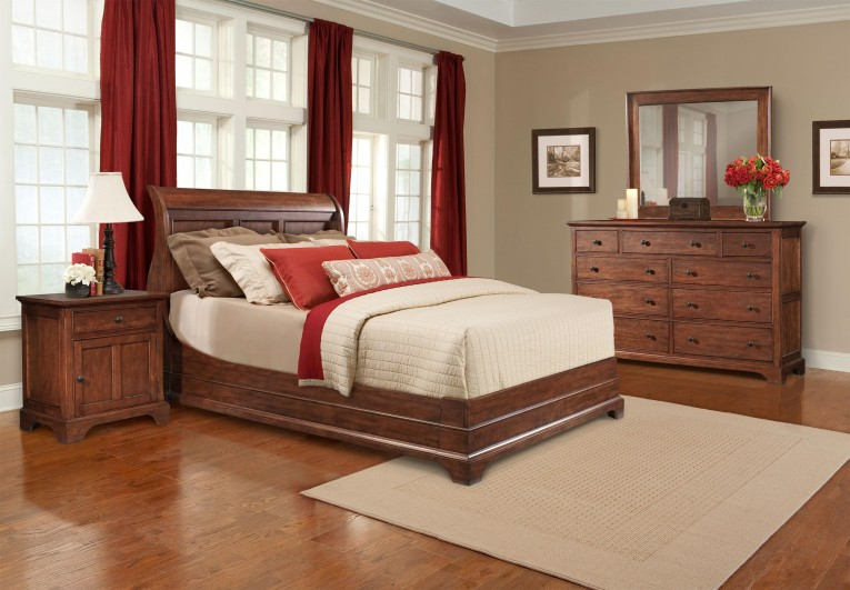Alluring Romance Bedding With Headboards Combined With Rugs And Sidetables Also Lamps Plus Sofas From Cresent Furniture For Your Home Furniture Ideas